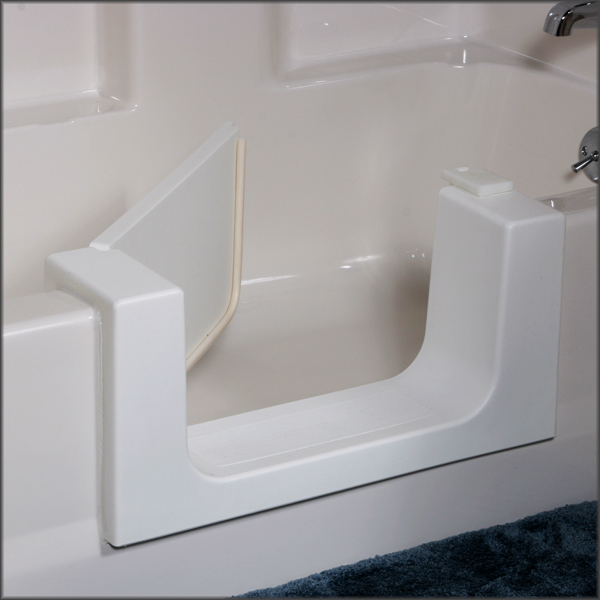 bathtub accessibility door